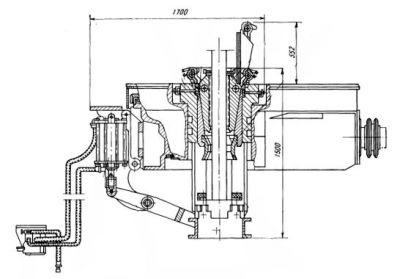 Захват клиньевой пневматический ПКР-560М-ОР